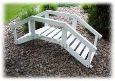 "Prairie Leisure® Decorative Garden Bridge with Post and Rails by PRAIRIE LEISURE. $179.99. Prairie Leisure Garden Bridge with Wood Railing for backyard landscaping that will set you apart! We bridge the gap between affordability and eye-catching charm! Great for the garden, perfect for the goldfish pond. Wood plank bridge spans 52"" and includes an attractive wood railing. Built-to-last construction. Timeless style. It's easy to assemble and the durable outdoor pa..."