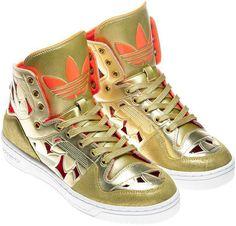 amazing gold adidas