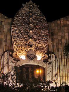 Ground Zero, Legian, Bali - memorial to victims of the 2002 bombing of the Sari Club and Paddy's Bar in Kuta.