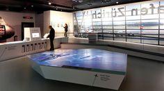 Aroma: lebhafte Flughafen-Ausstellung mit fünf interaktiven Modulen im Verkehrshaus der Schweiz.