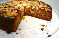 Sağlıklı tarifler: Ballı bademli unsuz kek