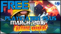 FLAME OVER FREE PLAYSTATION PLUS GAME Gameplay (PS4 HD)