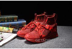 Puma Ignite Evoknit Black  Red  White 189697-08 Christmas Deals 3c88607d810ba