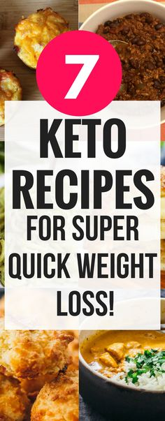 These 7 ketogenic recipes that help with weight loss are THE BEST! I'm so glad I found such great tasting keto recipes that I can use for breakfast, lunch and dinner. Now I can enjoy tons of great recipes while on the keto diet. pinning this for sure! #keto #ketogenicdiet #ketogenic #dinner #recipes #weightloss #weightlossrecipes