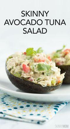 Skinny Avocado Tuna Salad: 191 calories   5 SmartPoints