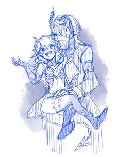 LuCiel Diabla/Demonio<--- H-happy couple~?