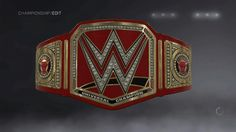 WWE Universal Championship with Chicago Bulls plates Version 2