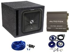 "Package: Kicker 11S12L32 12"" 800 Watt Dual 2 Ohm Solo Baric L3 Subwoofer + Single 12"" Vented Subwoofer Enclosure + Enclosure Wire Kit + Autotek At1000 1,000 Watt 2 Channel Amplifier + Cadence Wk81 Complete 8 Gauge Amp Kit by Kicker. $259.95. Package: Kicker 11S12L32 12"" 800 Watt Dual 2 Ohm Solo Baric L3 Subwoofer + Single 12"" Vented Subwoofer Enclosure + Enclosure Wire Kit + Autotek At1000 1,000 Watt 2 Channel Amplifier + Cadence Wk81 Complete 8 Gauge Amp Kit ..."