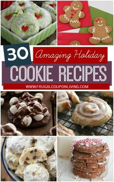 30 Cookie Exchange Ideas and Cookie Recipes