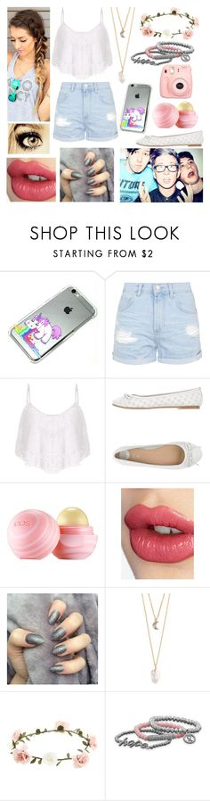 """Spending the day with Dan, Phil and Tyler"" by youtube-crazy ❤ liked on Polyvore featuring Topshop, Oakley, Gioseppo, Eos, Charlotte Tilbury, With Love From CA, Accessorize, Olsen and Polaroid"