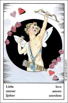 Oracle Cards, Disney Characters, Fictional Characters, Disney Princess, October 23, Illustrations, Amor, Arrows, Flowers