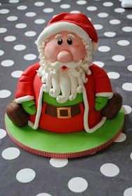 Christmas is coming soon, so I have collected Christmas cupcake toppers for all cupcake lovers. Christmas Cupcake Toppers, Christmas Cake Designs, Christmas Cake Decorations, Fondant Decorations, Christmas Cupcakes, Holiday Cakes, Christmas Desserts, Christmas Treats, Fondant Cakes