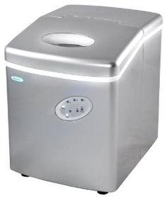 NewAir AI-100S 28-Pound Portable Ice Maker, Silver --- http://www.amazon.com/NewAir-AI-100S-28-Pound-Portable-Silver/dp/B000N6302Q/?tag=affpicntip-20