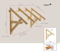 Resultado de imagen para GLORIETA de madera planos