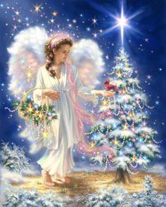 Gelsinger Licensing Group – Artwork - Dona Gelsinger - Christmas Angels. SO Beautiful.