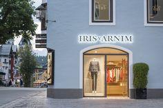 The Iris von Arnim Store in Kitzbühel ─ outside view