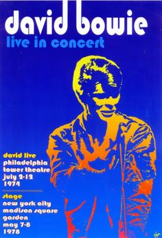 david bowie concert posters - Google Search