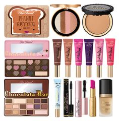"""""""TOO FACED MAKE UP"""" by rosa97400 ❤ liked on Polyvore featuring beauty and Too Faced Cosmetics"""