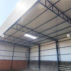 Front Gate Design, Door Gate Design, Roof Design, Steel Structure Buildings, Metal Structure, Metal Buildings, Car Shed, Engineering Works, Warehouse Design