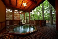 関東の温泉旅館12選。恋人・夫婦で行きたい客室露天風呂付 - Find Travel Sauna Design, Bath Design, Japanese Hot Springs, Bali Resort, Japanese Bath, Ideal Bathrooms, Scenery, Relax, Terraces