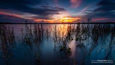 Sunset in Ea Kao lake by Khang Ninh  on 500px