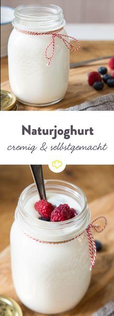 Gesund, einfach und lecker: Wir zeigen dir, wie du Joghurt selber machst. Und dazu gibt's köstliche Joghurt-Rezepte!