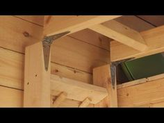 (3) Unique and Simple Loft Ladder for a Tiny House - YouTube