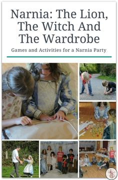 The Lion The Witch and the Wardrobe: Narnia Party Games