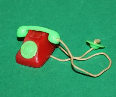 Vintage Dolls House Early Lundby Telephone / Phone