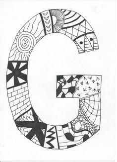 Great simple art anyone can do! Zentangle art!