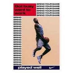 bureauborsche: Nike Basketball - Bring Your Game #nike...