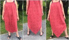 Bonjour, L'été est là! Il fait chaud et j'aime avoir des vêtements amples et légers pour cacher mes formes. Je me suis inspirée de robes vues sur Pinterest pour créer ma robe de plage. 2 carrés de 1m x 1m de tissu léger, 1 bande de tissu ou un ruban,...