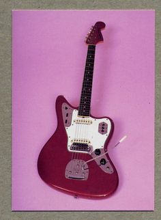 card - 1965 Fender Jaguar -  guitar card series 2 #21