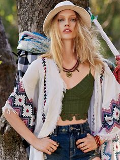 Free People FP ONE Eastern Fringe Bralette at Free People Clothing Boutique