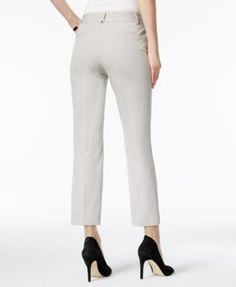 Alfani Petite Skinny Capri Pants, Only at Macy's - Orange 10P