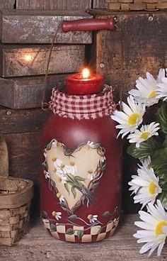 Mason Jar Crafts – How To Chalk Paint Your Mason Jars - Mintain Chalk Paint Mason Jars, Painted Mason Jars, Painted Bottles, Mason Jar Gifts, Mason Jar Diy, Jar Crafts, Bottle Crafts, Mason Jar Projects, Mason Jar Flowers