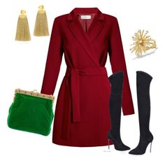 """dress2281"" by k-meszaros on Polyvore featuring Undress, Lizzie Fortunato and David Yurman"