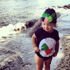 California Sushi Roll Toddler Halloween Costume  - Childrens Halloween Costume. $42.00, via Etsy.