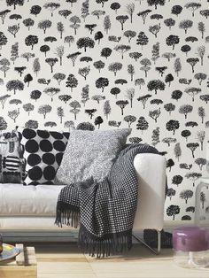 Buy Marimekko Linnapuisto Wallpaper | John Lewis
