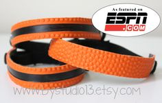 Basketball Bracelet by on Etsy Basketball Crafts, Basketball Party, Football And Basketball, Basketball Cupcakes, Basketball Shirts, Sports Mom, Sports Gifts, Coach Gifts, Team Gifts