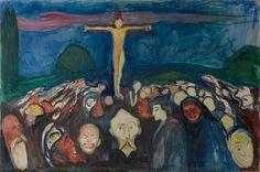 Edvard Munch - Golgotha, 1900'   Munch Museum, Oslo
