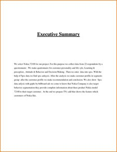 19 best executive summary templates images on pinterest executive