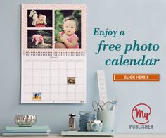 LAST DAY! FREE Photo Calender from MyPublisher!