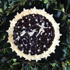 Peter Pan blueberry pie