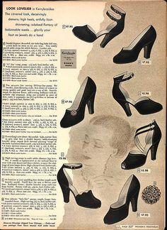 1948 -  Sears Roebuck Catalog, Spring - via Laura Mae on Blogger