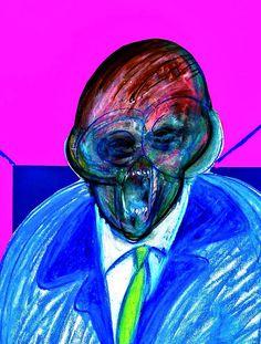 detalle de figura de pie 1990 de la Francis Bacon collection of the drawings donated to cristiano lovatelli ravarino Francis Bacon, Lucian Freud, Satanic Art, Art Deco, Triptych, Land Art, Artist Art, Art Boards, Surrealism