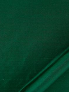 Emerald Green Silk Upholstery Fabric - Dark Green Silk Drapery Panels - Emerald Bedding Fabric - Green Euro Sham and Throw Pillow Covers