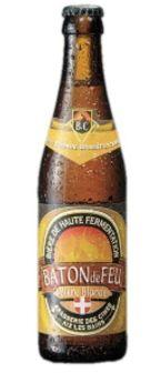 Cerveja Cimes Baton de Feu, estilo Biere de Garde, produzida por Brasserie des Cimes, França. 6.5% ABV de álcool.