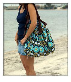 Beach Tote Hobo Bag Kaela Kick JDM1002S by kaeladesigns on Etsy, $58.00