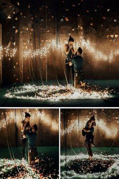 romantic marriage proposal ideas with string lightsYou can find Marriage proposals and more on our website.romantic marriage proposal ideas with string lights Romantic Proposal, Perfect Proposal, Proposal Photos, Engagement Proposal Ideas, Surprise Proposal Pictures, Romantic Ideas, Wedding Fotos, Dream Wedding, Wedding Day